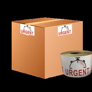 étiquettes urgent