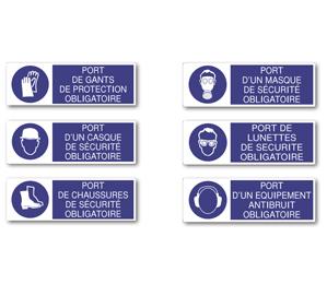 Affiches «Port des Équipements de Protection Individuelle»
